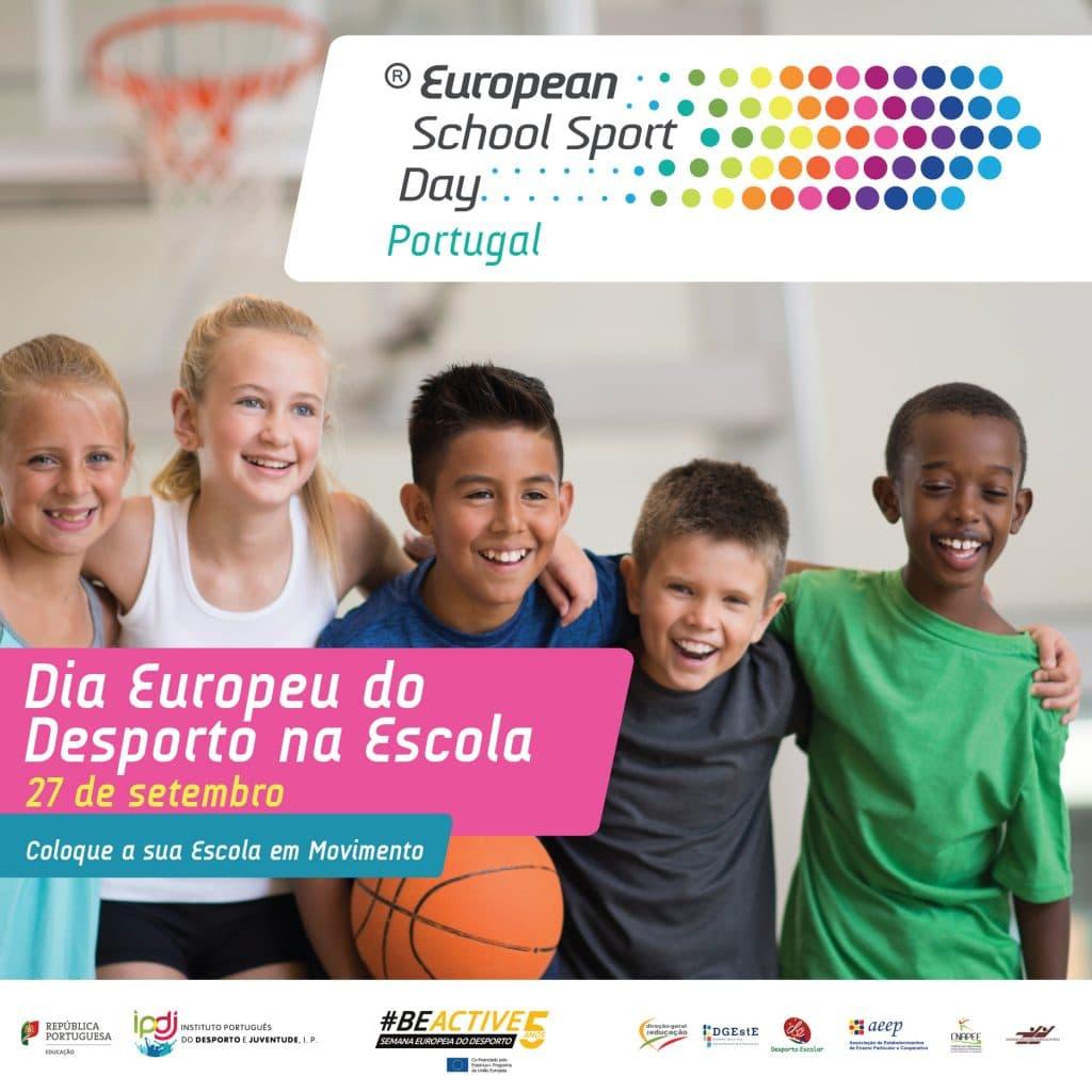 350.000 Alunos celebram o Desporto na Escola Dia Europeu do Desporto na Escola
