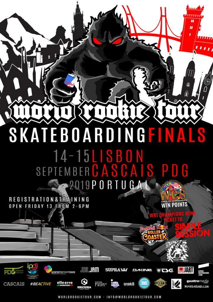 2019 World Rookie Tour Skateboarding Finals