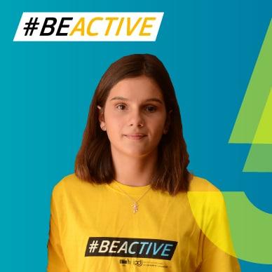 Embaixadora #BeActive Marta Paço em destaque na Newsletter da EUSport!