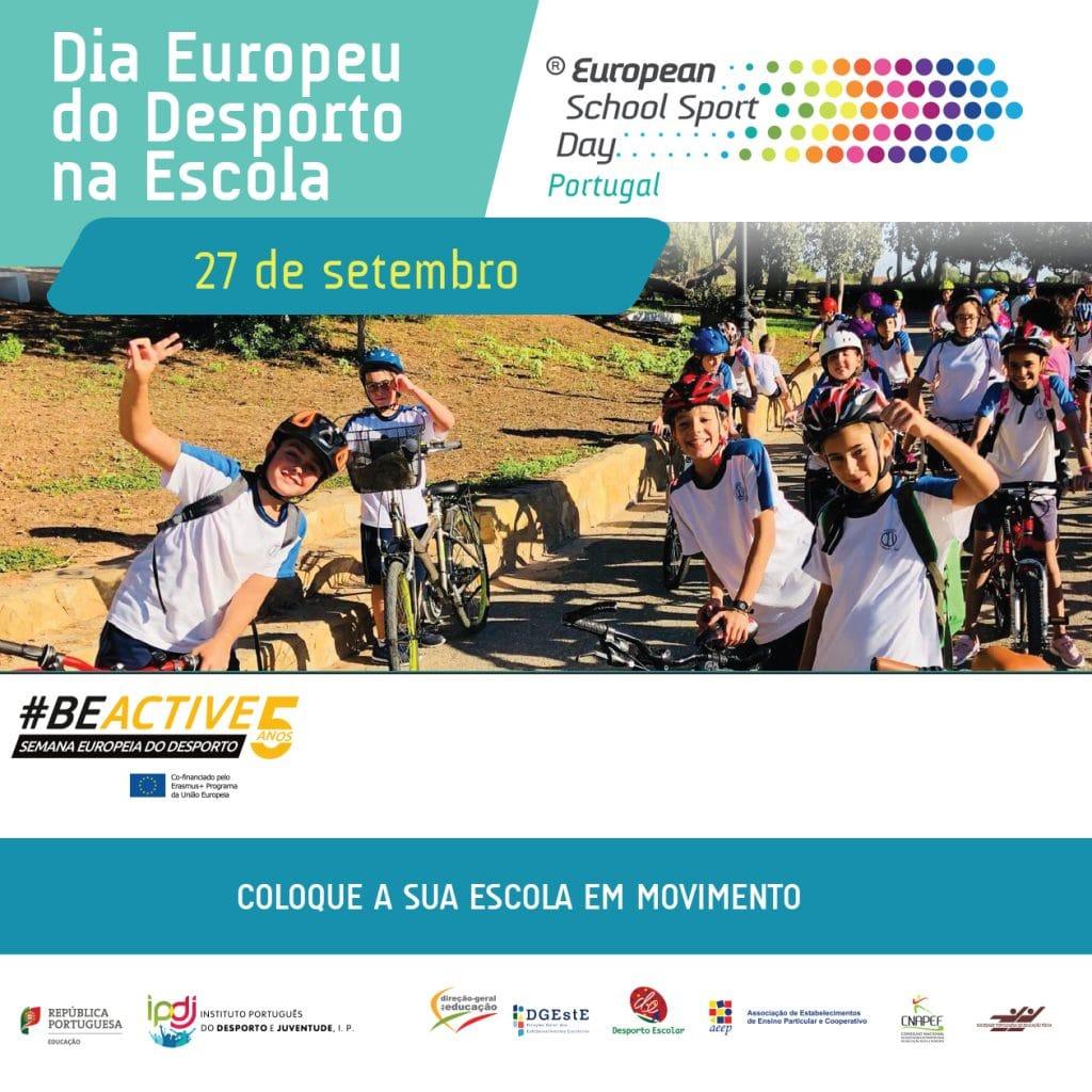 Dia Europeu do Desporto na Escola – Reportagem