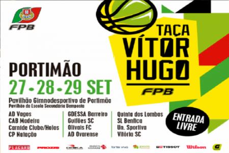 Taça Vítor Hugo em basquetebol associa-se ao Movimento #BeActive