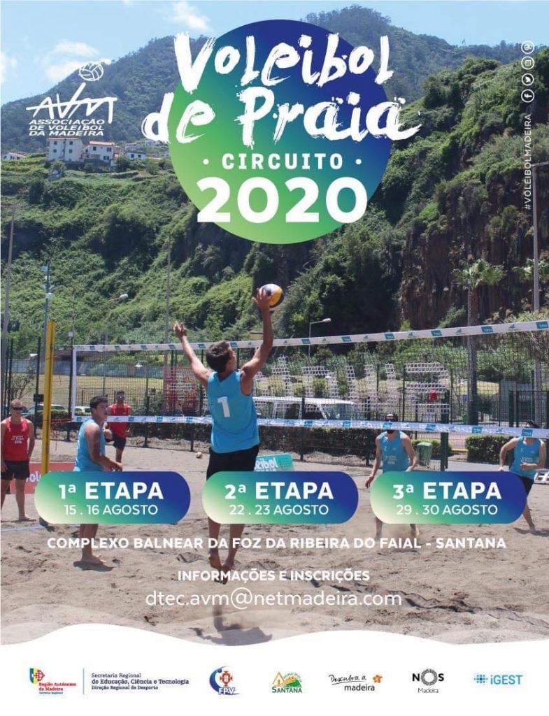 Circuito Regional de Voleibol de Praia 2020