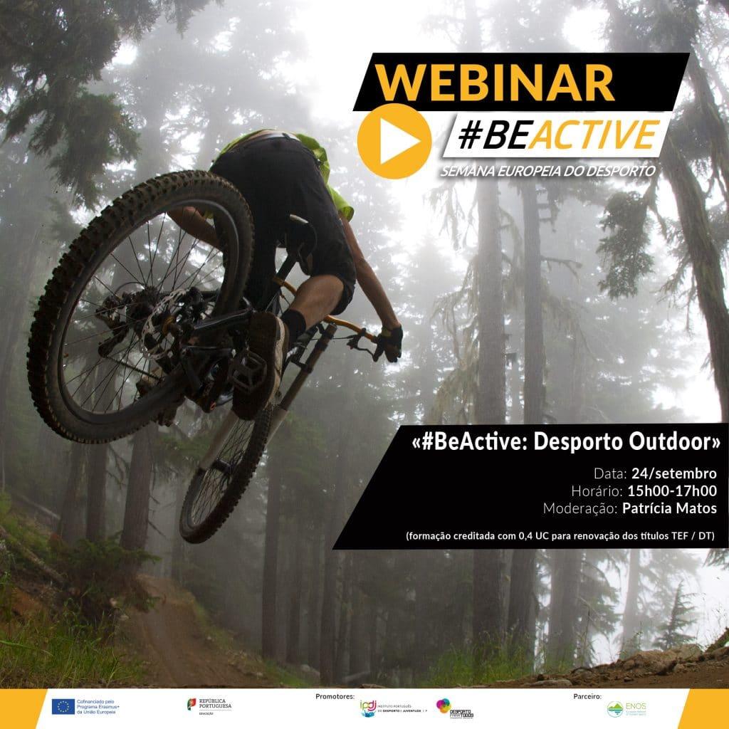 Webinar #BeActive:Desporto Outdoor