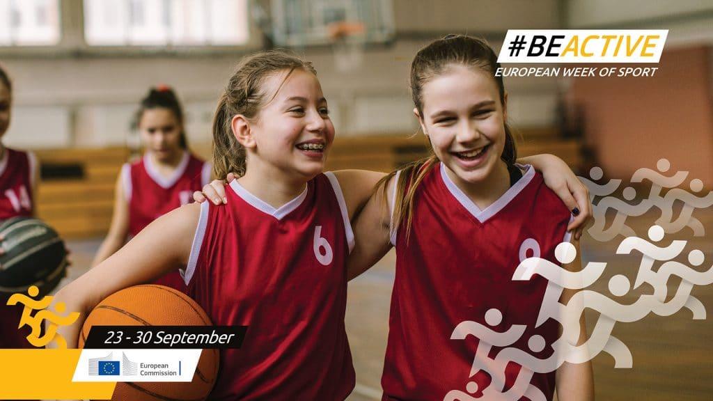 Semana Europeia do Desporto 2020 enfrenta o desafio #BEACTIVE