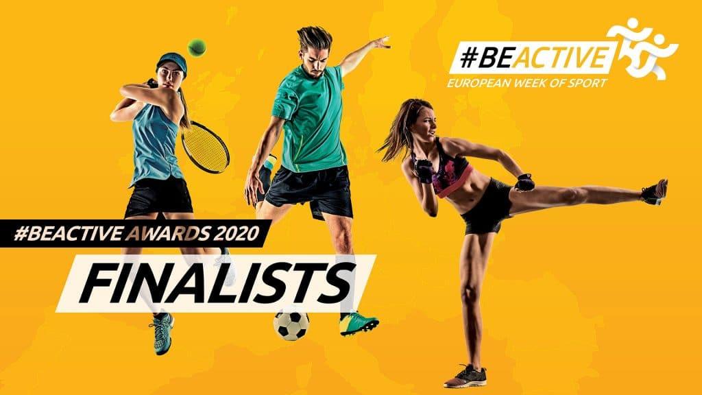 Anunciados os 9 Finalistas 2020 #BeActive Awards!