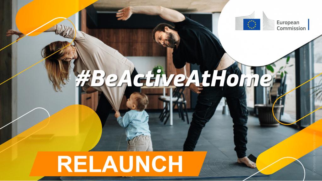 Relançamento do Programa #BeAtiveAtHome Winter Edition