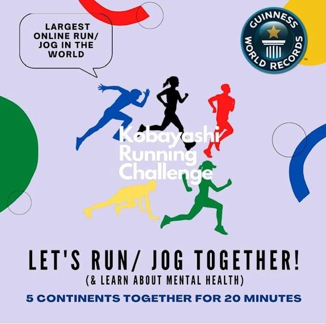 Kobayashi Running Challenge‼