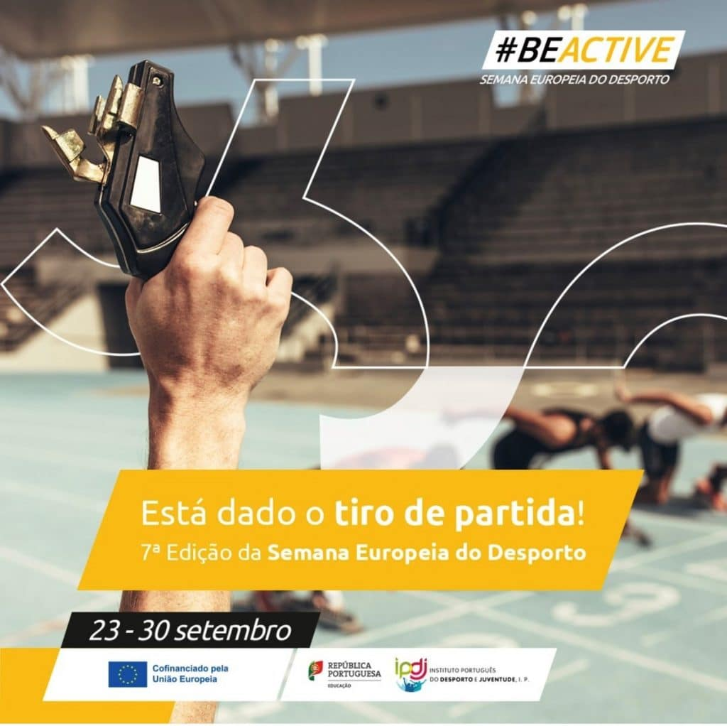 Está dado o Tiro de Partida para a Semana Europeia do Desporto 2021