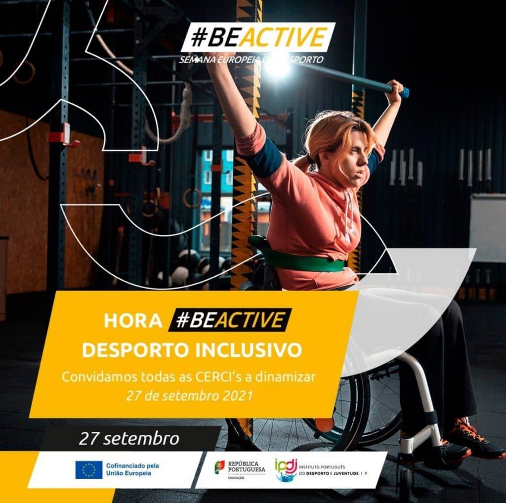 Hora #BeActive – Desporto Inclusivo